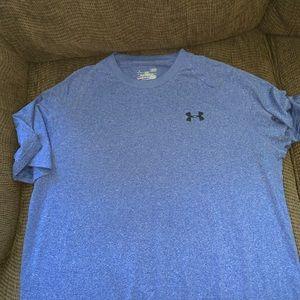 Blue under armor shirt